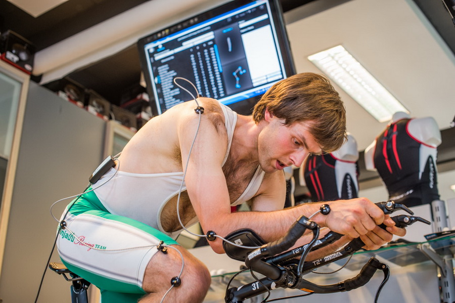 Bike fitting w Sport Guru. Fot. Piotr Dymus