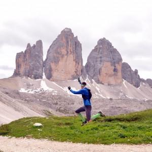 Trzy Cimy na trasie Lavaredo Ultra Trail. Fot. Ola Belowska