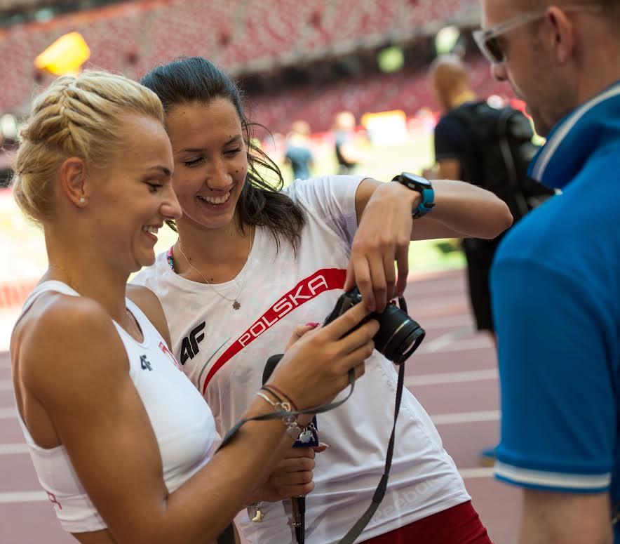 Polskie sprinterki w Pekinie. Fot Tomasz Wieclawski