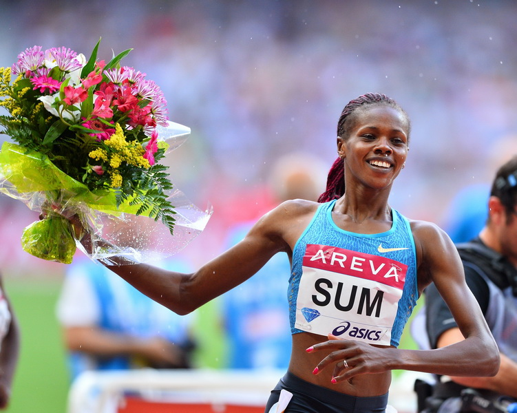 Eunice Sum. Fot. Getty Images IAAF Diamond League 2015
