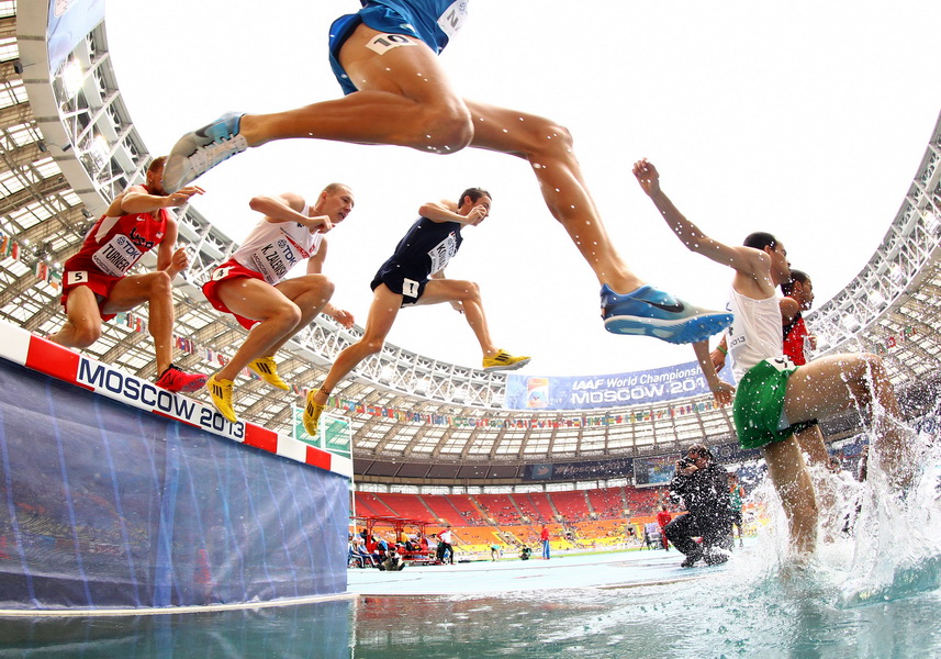 Mistrzostwa świata w lekkoatletyce w Moskwie 2013. Krystian Zalewski. Fot. Getty Images
