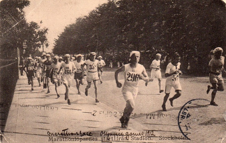 Maraton w Sztokholmie 1912