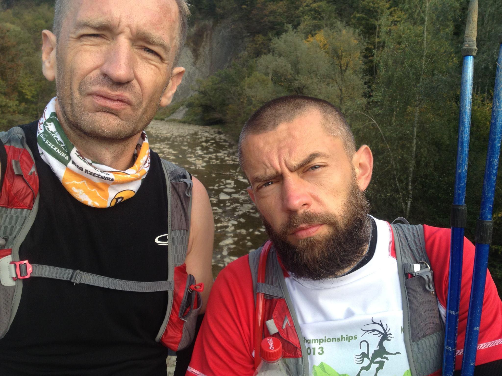 Chłopaki na mecie GSB. Fot. Łukasz Buszka
