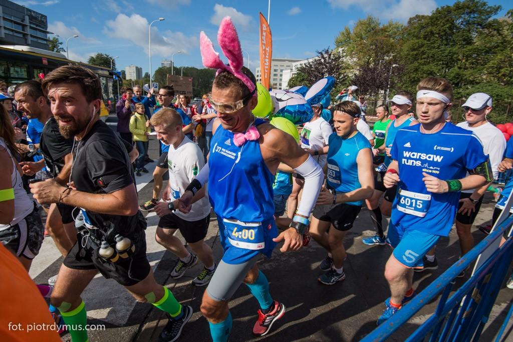37. PZU Maraton Warszawski. Fot. Piotr Dymus