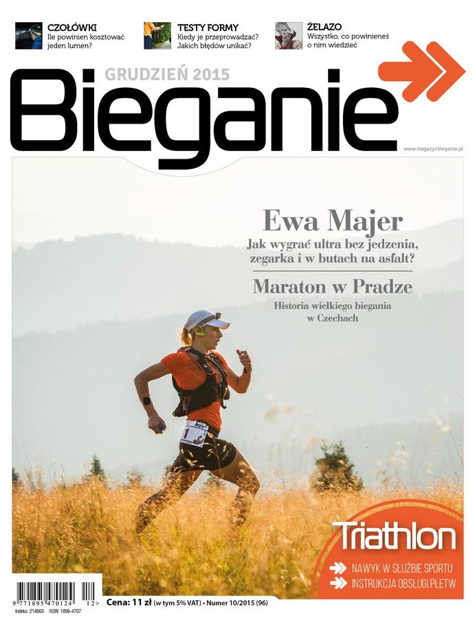 Magazyn Bieganie grudzień 2015 okładka