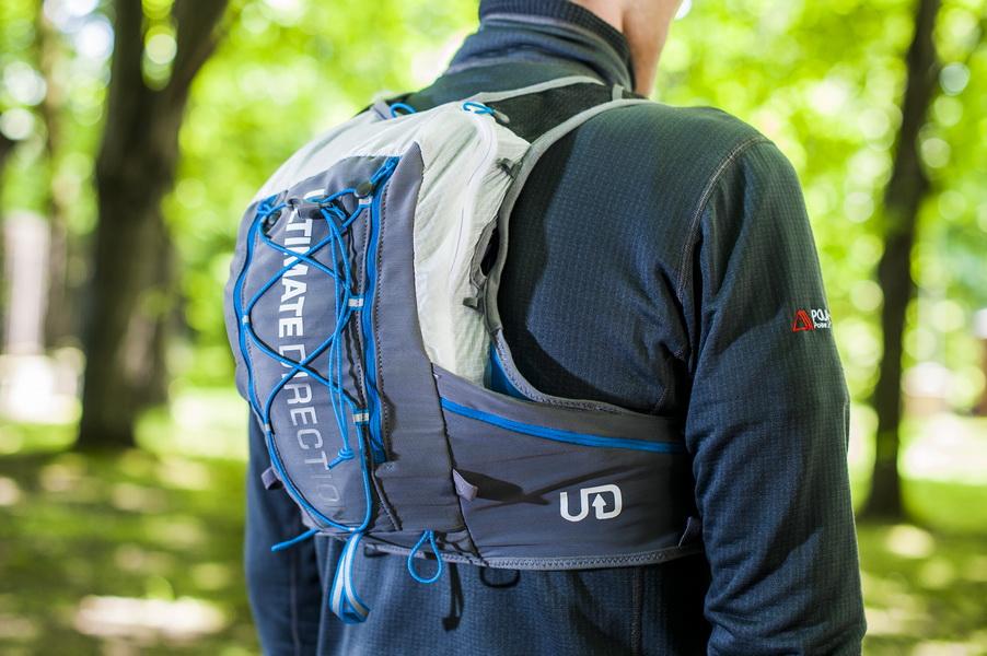 Plecak z kamizelką do biegania. Fot. Piotr Dymus
