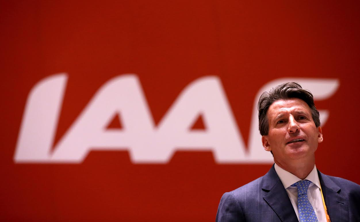 BEIJING, CHINA - AUGUST 19: IAAF presidental candidate Lord Sebastian Coe during the 50th IAAF Congress at the China National Convention Centre, CNCC on August 19, 2015 in Beijing, China. (Photo by Alexander Hassenstein/Getty Images for IAAF)