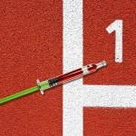 Syringe racetrack
