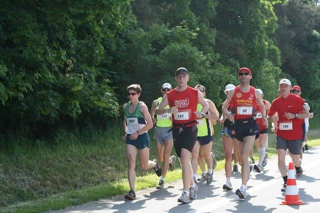 Kamil pierwszy maraton 16 lat