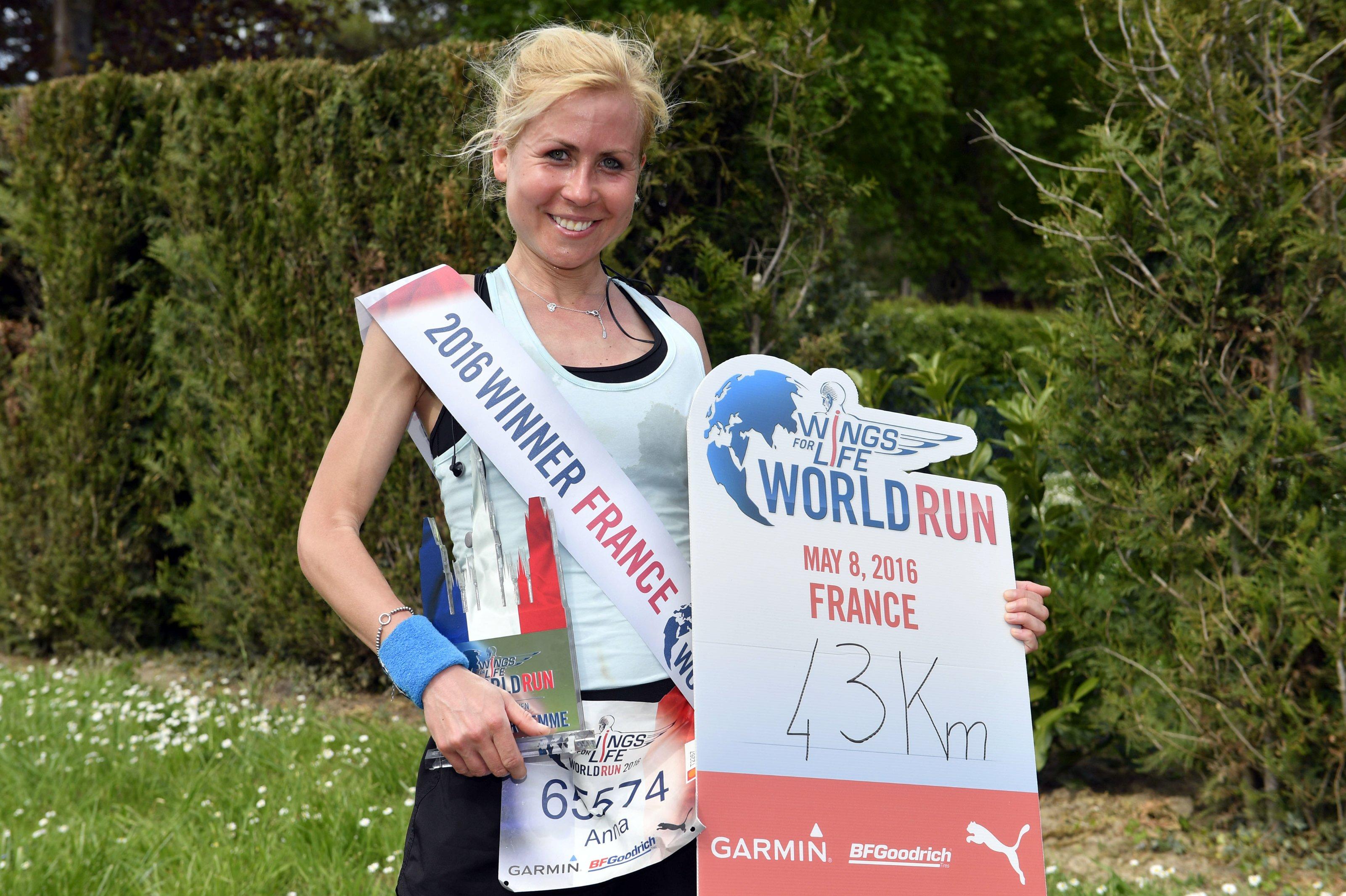 Julien Crosnier for Wings for Life World Run