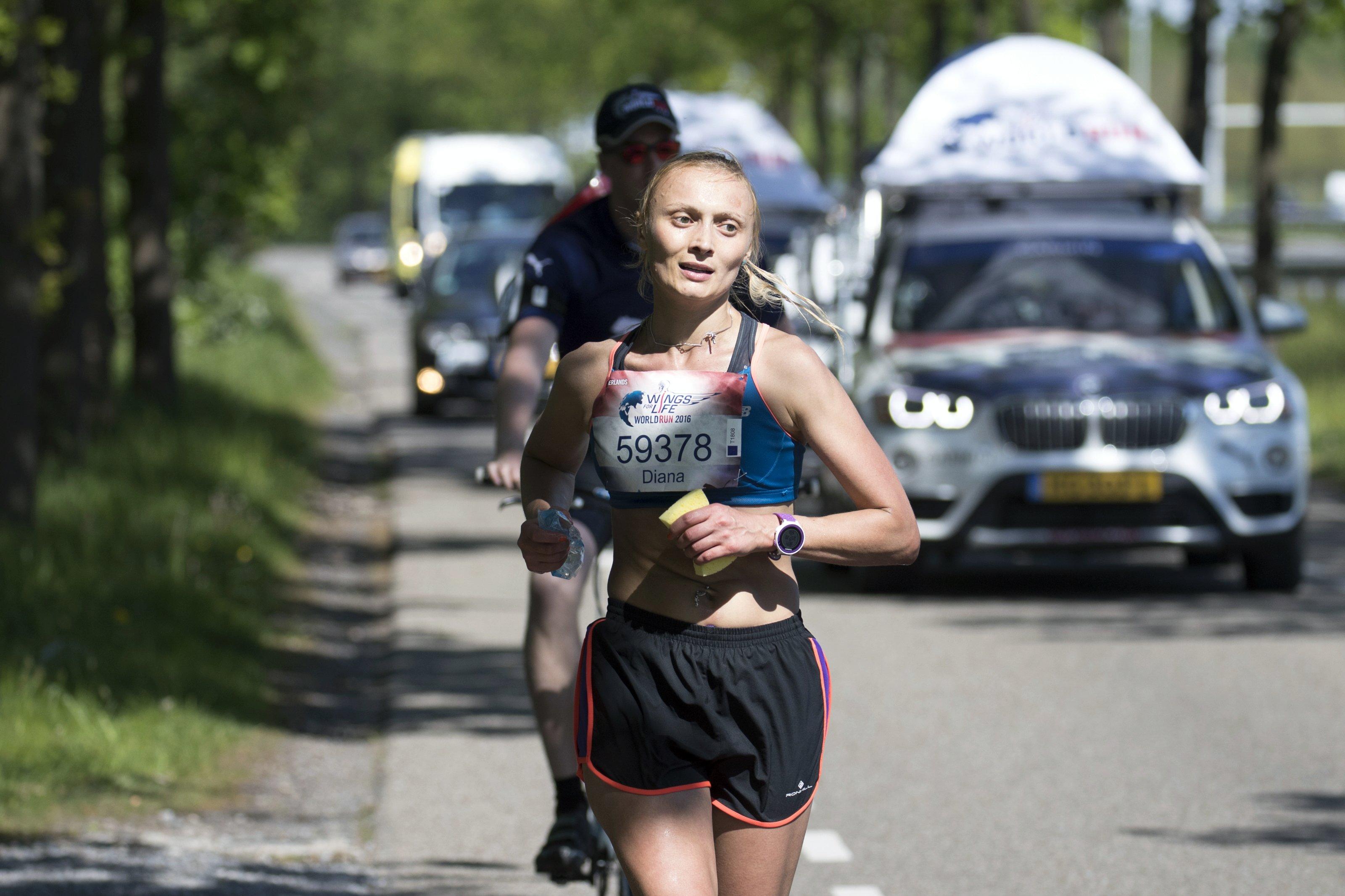 Marcel van Hoorn for Wings for Life World Run