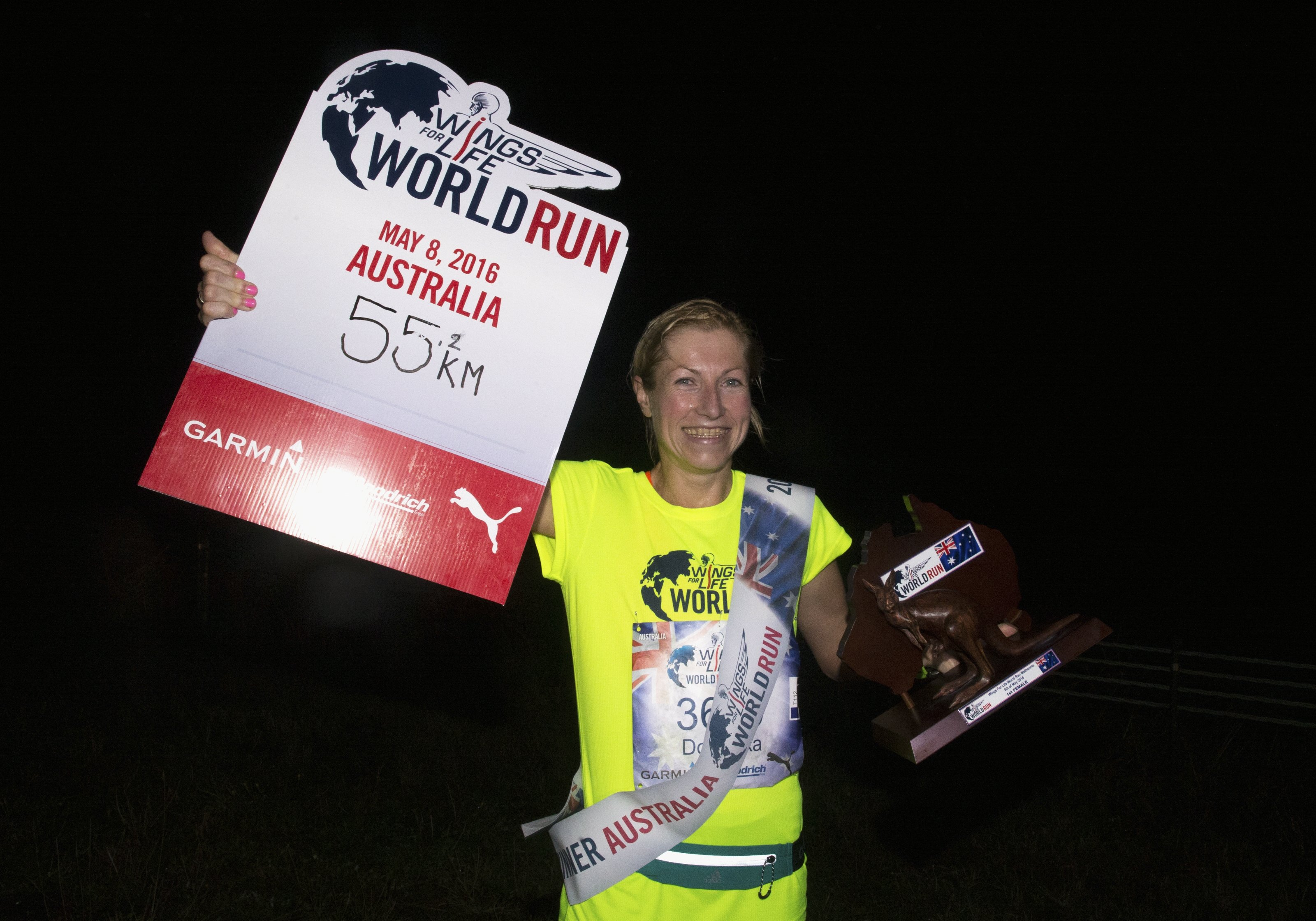 Mark Dadswell, Wings for Life World Run
