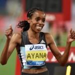 Almaz Ayana zwycięża w biegu na 5000 m w mityngu Diamentowej Ligi w Rzymie. Fot. Getty Images 537671392