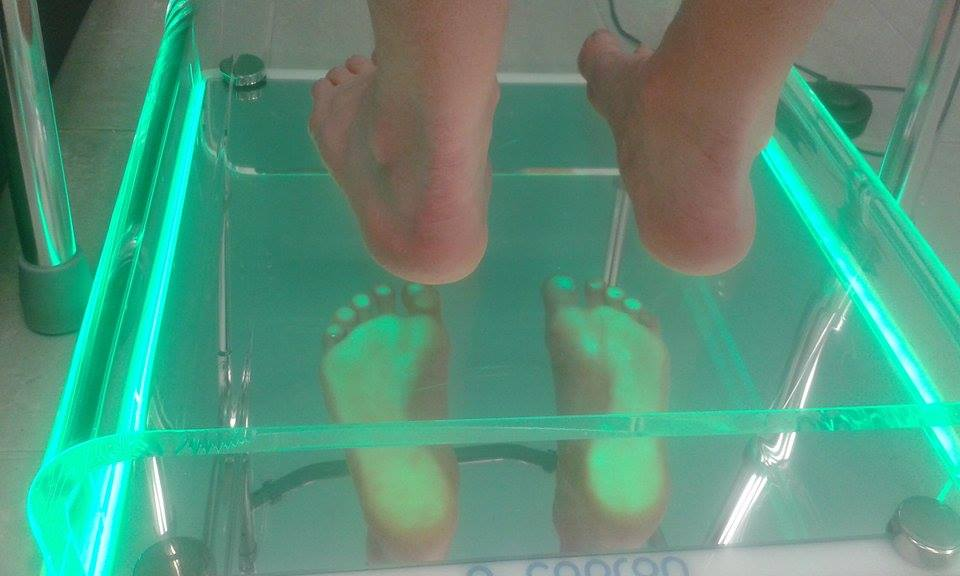 Badanie stóp na podoskopie