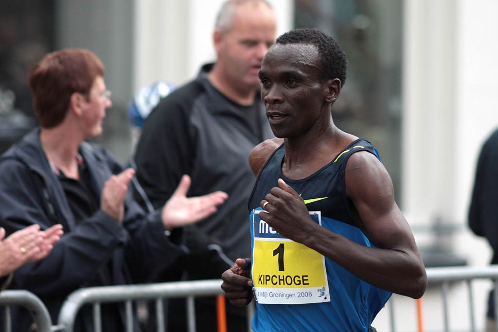 Eliud Kipchoge fot: CC BY 2.0 Flickr.com/Michiel Jelijs
