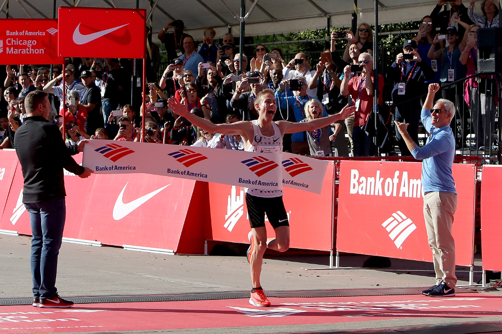 Gallen Rupp wygrywa Chicago Marathon  2017 ( by Dylan Buell/Getty Images)