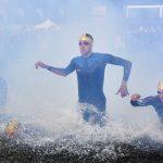 pianka do pływania, triathlon