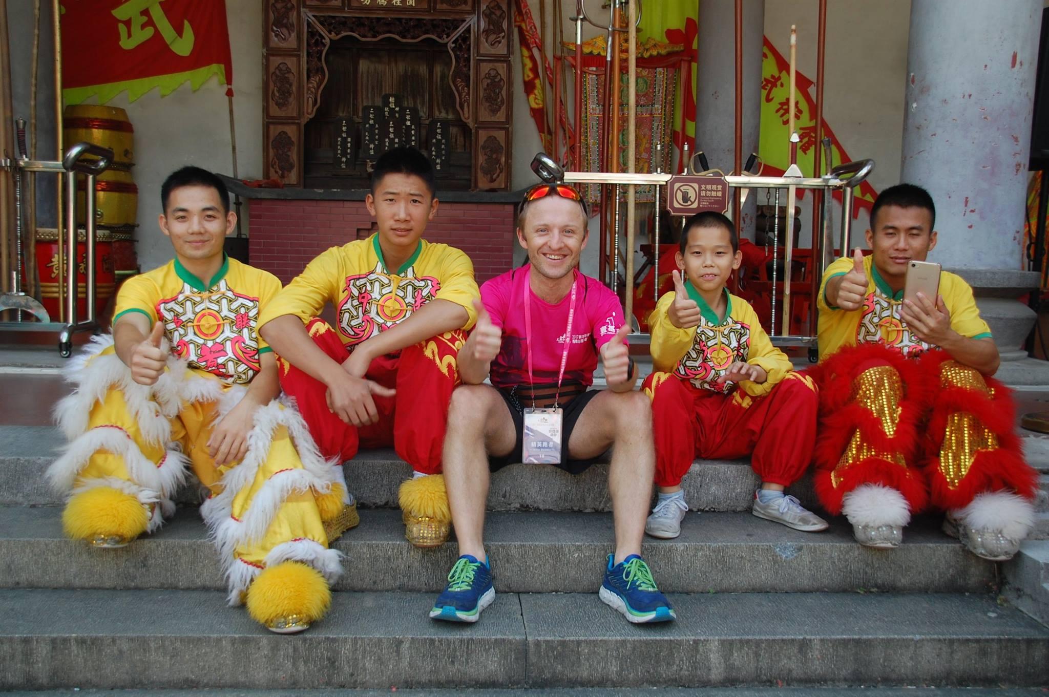 Fot: Archiwum Łukasza -Xiqiao Mountain International- 4hr Ultramaratho. Chiny 2017