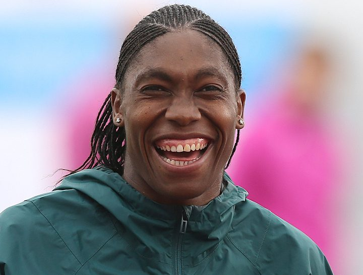 South Africa's Caster Semenya on the warm up track, at London Stadium ahead of the IAAF World Championships which starts on Friday. PRESS ASSOCIATION Photo. Picture date: Thursday August 3, 2017. Photo credit should read: Martin Rickett/PA Wire