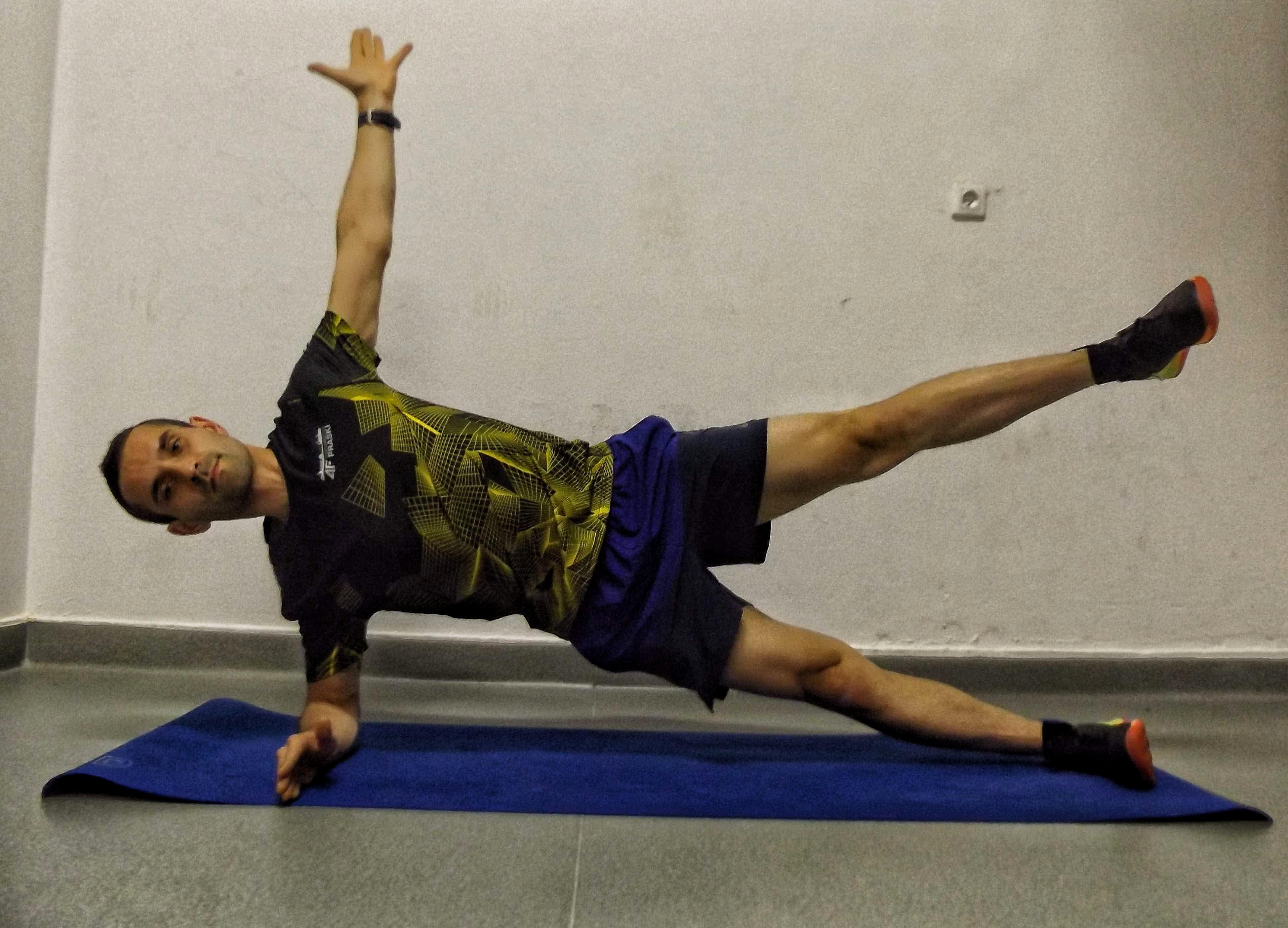 ćwiczenia dla biegaczy