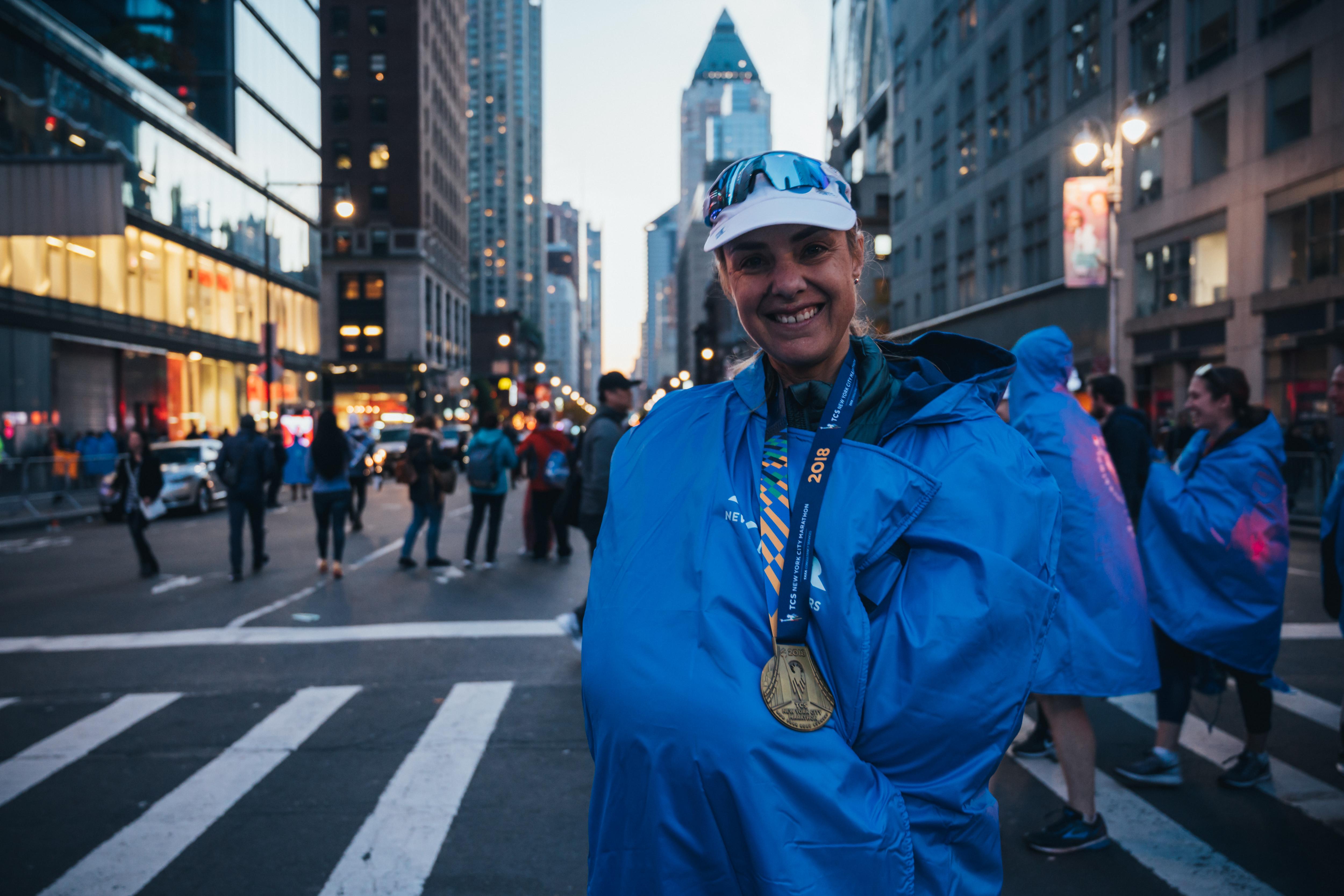 Mina Guli planuje przebiec 100 maratonów w 100 dni, a wszystko po to, by zwrócić uwagę na problem braku wody w wielu krajach. Fot: Kelvin Trautman / Welcome to Frank via Getty Images
