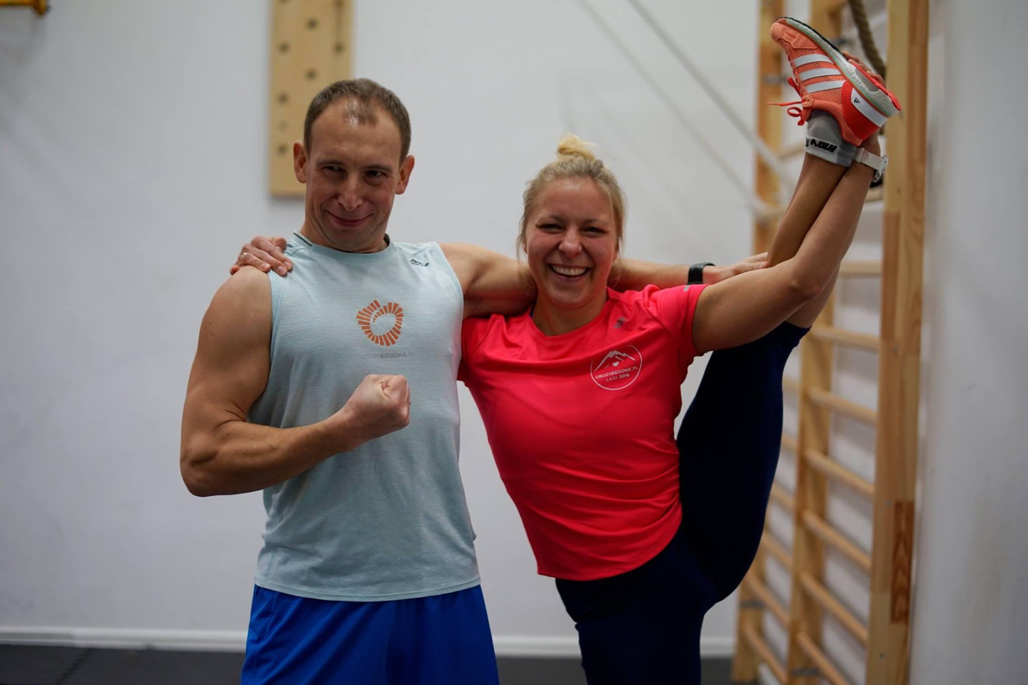 Agnieszka i Olek Senk