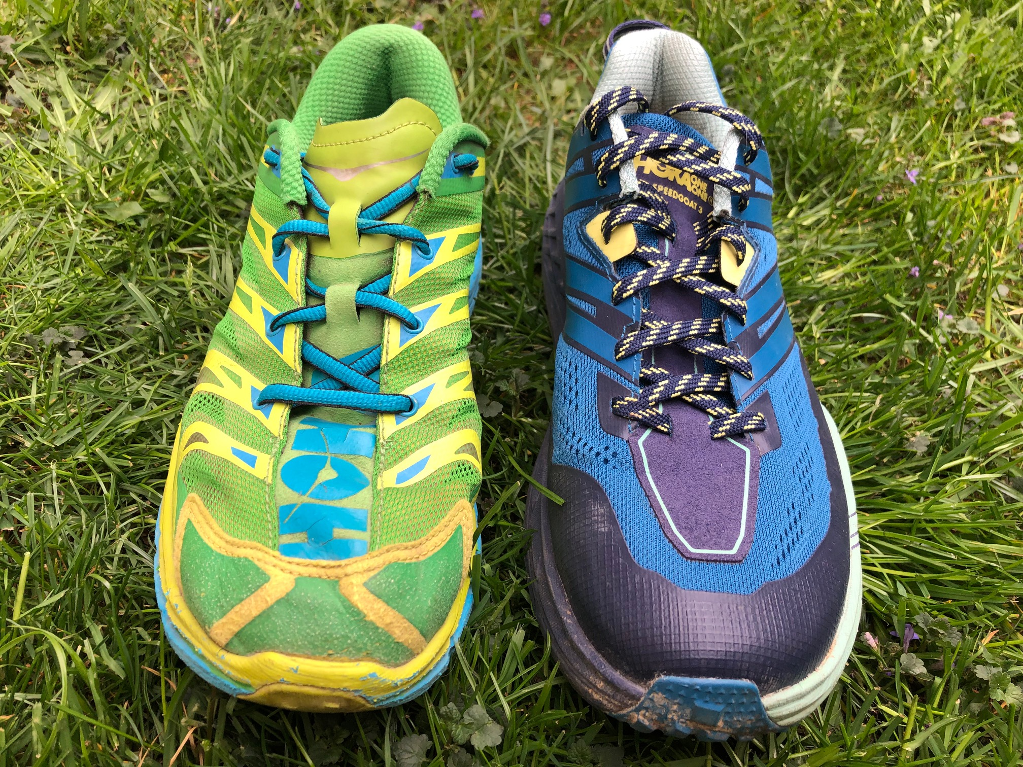 Hoka Speedgoat 3 vs 1