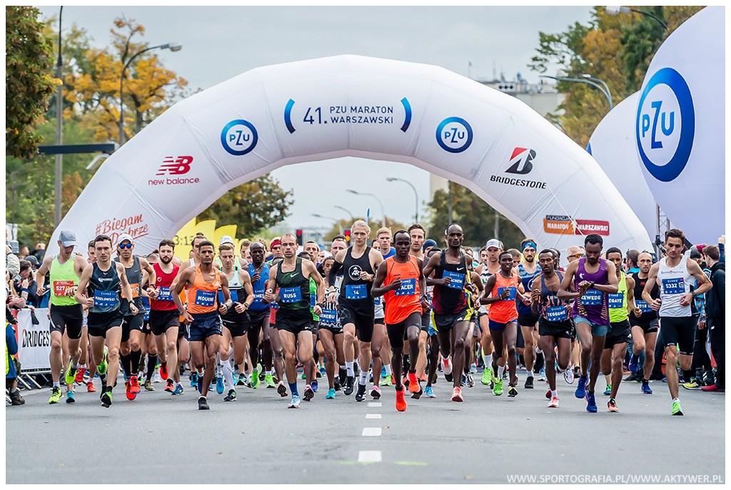 41-pzu-maraton-warszawski-start