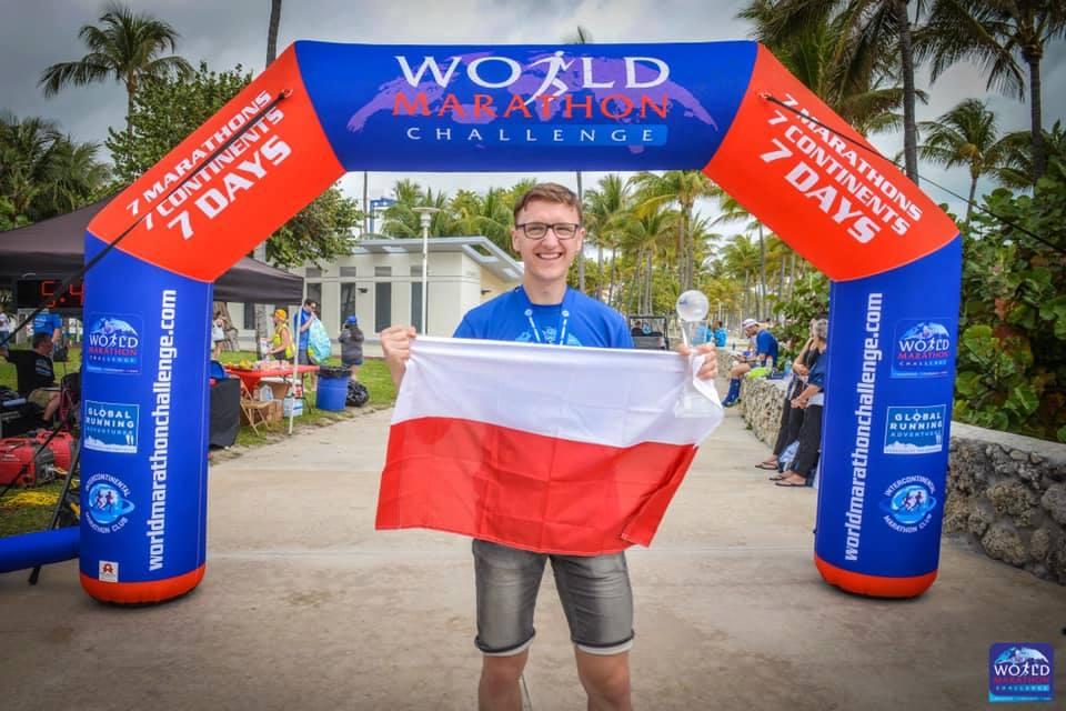 miłosz pasiecznik world marathon challenge