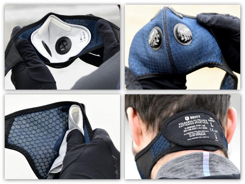 Maska antysmogowa Broyx Alfa Sport