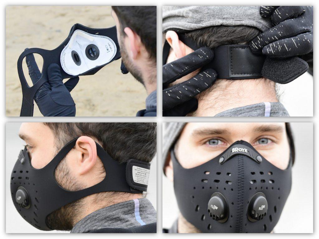 Maska antysmogowa Delta Sport